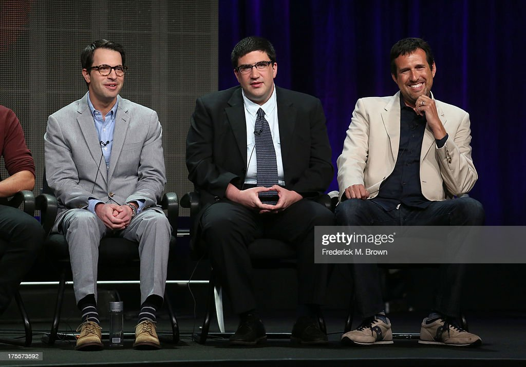 Executive producers Edward Kitsis, Adam Horowitz and Zack ...