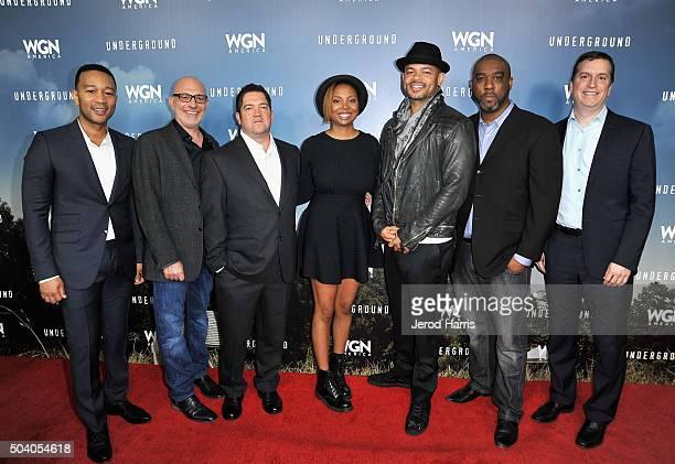 Executive producers John Legend and Akiva Goldsman creators/writers/executive producers Joe Pokaski and Misha Green Director/executive producer...