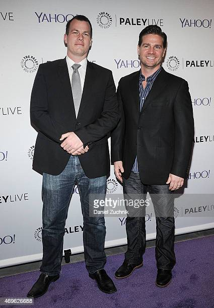 Executive Producers Jonanthan Nolan and Greg Plageman attend The Paley Center For Media Hosts An Evening With Person Of Interest at The Paley Center...