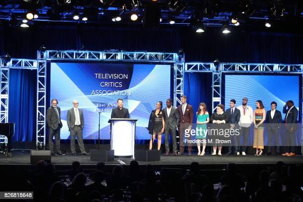 Executive Producers Ken Olin Jess Rosenthal Dan Fogelman actors Susan Kelechi Watson Sterling K Brown Justin Hartley Executive Producer Elizabeth...