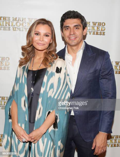 Executive Producers Lola Tillyaeva and Timur Tillyaev at the premiere of THE MAN WHO UNLOCKED THE UNIVERSE on June 21 2018 in West Hollywood...