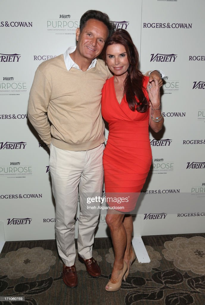 Executive Producers Mark Burnett and Roma Downey attend Variety's Purpose: The Faith And Family Summit n Association with Rogers and Cowan at Four Seasons Hotel Los Angeles on June 21, 2013 in Beverly Hills, California.