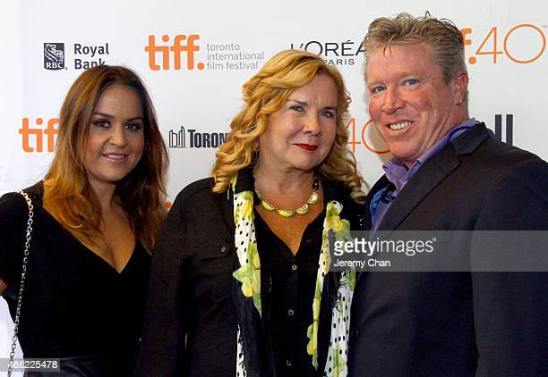 Executive Producers Martina Lisec Anne O'Shea and Brian Quattrini attend 'The Family Fang' premiere during the 2015 Toronto International Film...