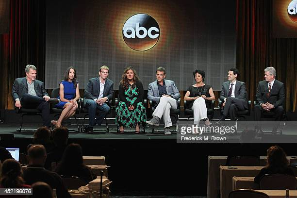 Executive producers Marty Adelstein Becky Clements Cocreator/executive producer Kevin Hench actors Cristela Alonzo Carlos Ponce Terri Hoyos Andrew...