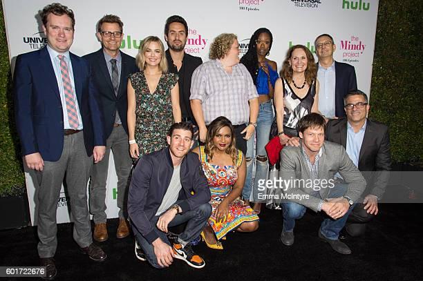 Executive Producers Matt Warburton and Charlie Grandy actors Rebecca Rittenhouse Bryan Greenberg Ed Weeks Fortune Feimster Mindy Kaling Xosha...