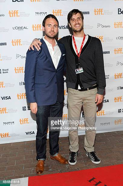 Executive producers Nate Bolotin and Nick Spicer attend the premiere of 'Tusk' at the Toronto International Film Festival on September 6 2014 in...