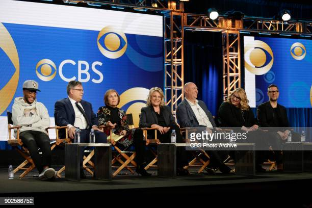 Executive Producers of various CBS series discuss POLITICS SOCIAL ISSUES ON TELEVISION at the TCA Winter Press Tour 2018 on Monday January 6 2018 at...