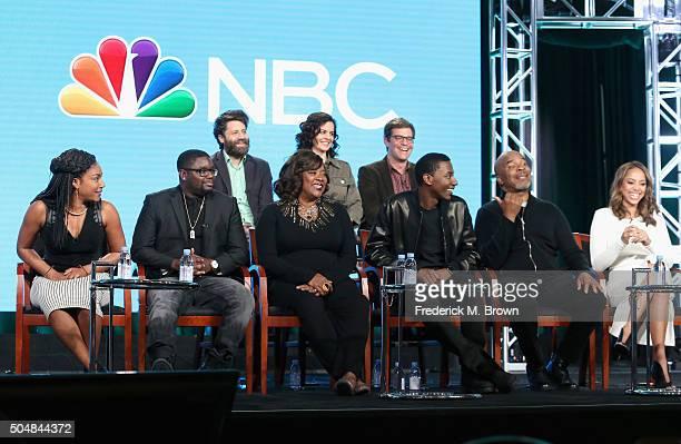 Executive producers Ravi Nandan Danielle SanchezWitzel and Nicholas Stoller Actors Tiffany Haddish Lil Rel Howery Loretta Devine executive...