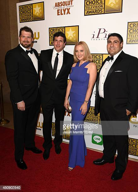 Executive Producers Seth Gordon Doug Robinson actress Wendi McLendonCovey and Show Creator Adam F Goldberg attend the 4th Annual Critics' Choice...
