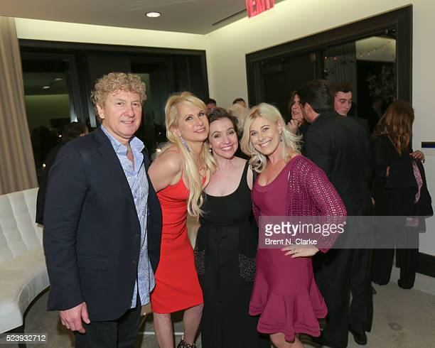 Executive producers Tom Rosicki Cynthia Rosicki director Domenica CameronScorsese and Erica Katz attend the Almost Paris premiere after party on...