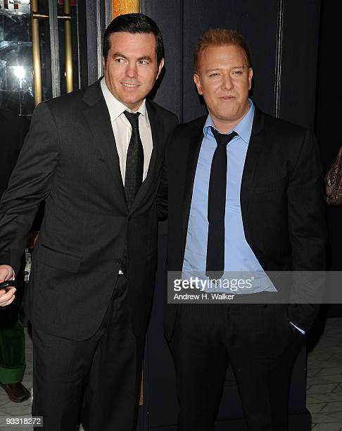 Executive producers Tucker Tooley and Ryan Kavanaugh attend the after party for The Cinema Society Details and DKNY screening of Brothers at Abe...