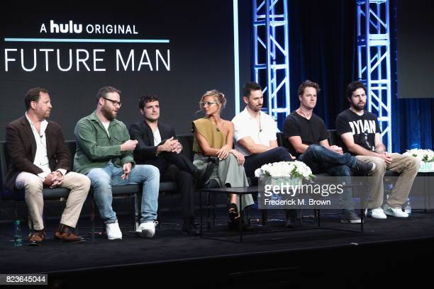 Executive producer/showrunner Ben Karlin executive producer/director Seth Rogan producer Josh Hutcherson Eliza Coupe Derek Wilson creator/executive...