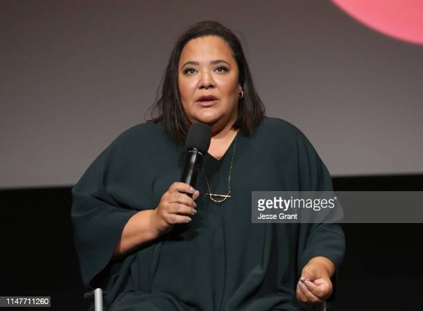 "Executive producer/showrunner dream hampton attends Lifetime's ""Surviving R Kelly"" Emmy FYC Screening on May 07 2019 in North Hollywood California"