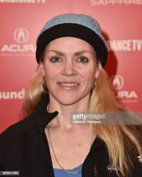 Executive Producer/Showrunner Pagan Harleman attend the premiere of 'The Trade' during the Sundance FIlm Festival at The Egyptian Theatre on January...