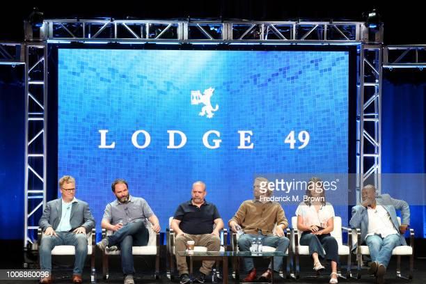 Executive Producer/Showrunner Peter Ocko Creator/Author/Executive Producer Jim Gavin Executive Producer Paul Giamatti and Actors Wyatt Russell Sonya...