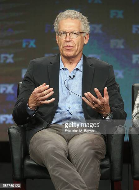 Executive producer/showrunner/writer/director Carlton Cuse speaks onstage at 'The Strain' panel discussion during the FX portion of the 2016...
