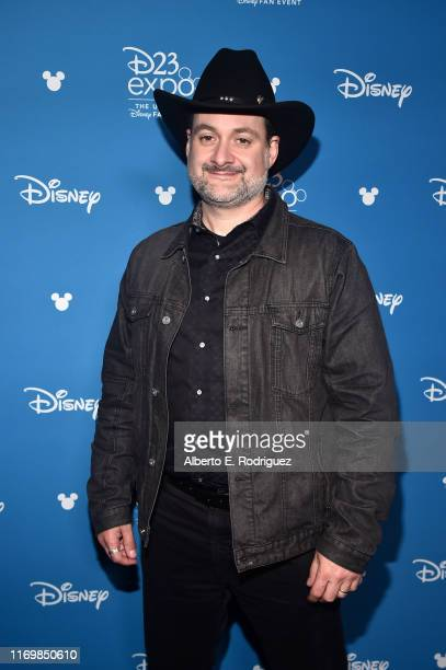 Executive producer/writer Dave Filoni of 'The Mandalorian' took part today in the Disney+ Showcase at Disney's D23 EXPO 2019 in Anaheim, Calif. 'The...