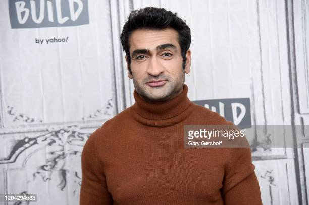 "Executive producer/writer Kumail Nanjiani visits the Build Series to discuss the Apple TV + Anthology Series ""Little America"" at Build Studio on..."