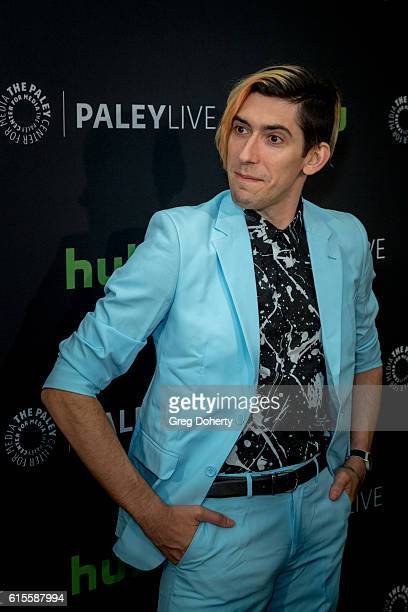 "Executive Producer/Writer Max Landis arrives for the PaleyLive LA - ""Dirk Gently's Holistic Detective Agency"" Premiere Screening And Conversation at..."
