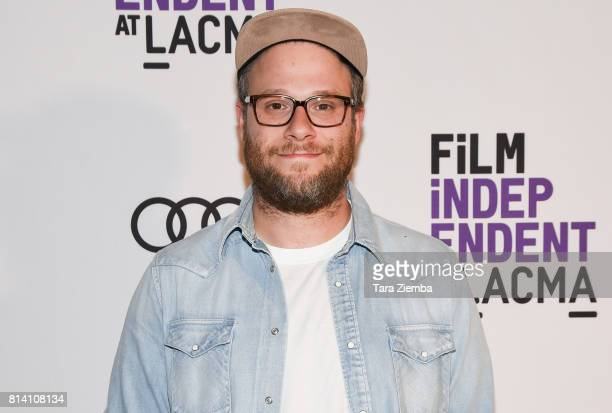 Executive Producer/writer Seth Rogen attends Film Independent at LACMA special screening of 'Preacher' at Bing Theatre At LACMA on July 13 2017 in...