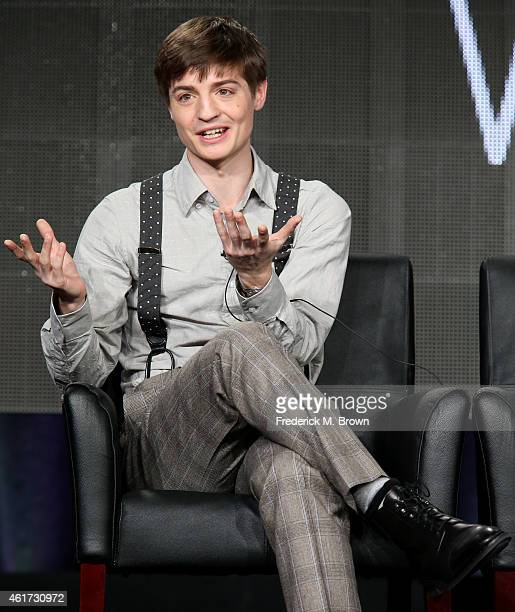 Executive producer/Writer Simon Rich speaks onstage during the 'Man Seeking Woman' panel discussion at the FX Networks portion of the Television...