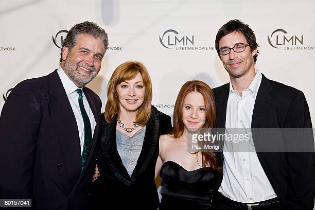 Executive Producter Stanley Brooks and actors Sharon Lawrence Tom Cavanagh and Amy Davidson pose for a photo at the world premiere screening of...