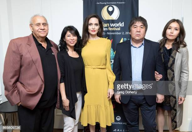 AWFF Executive Program Director Georges Chamchoum Author Loung Ung Director Angelina Jolie AWFF Founder and Chairman Sadyk SherNiyaz and AWFF...