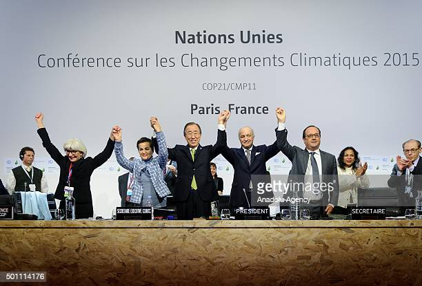 Executive Secretary of the United Nations Framework Convention on Climate Change Christiana Figueres Secretary General of the United Nations Ban Ki...