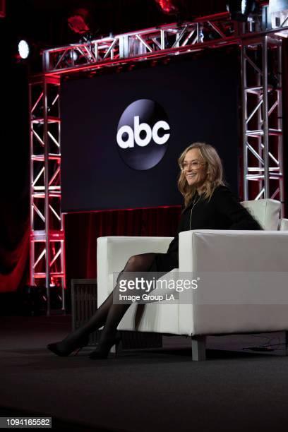 TOUR Executive Session Walt Disney Television via Getty Images Entertainment president Karey Burke addressed the press at the 2019 TCA Winter Press...