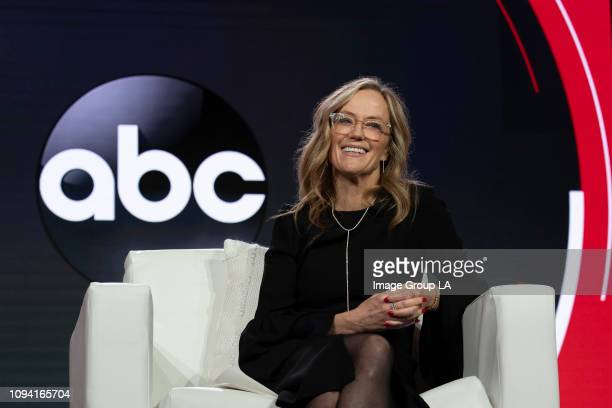 Executive Session - Walt Disney Television via Getty Images Entertainment president Karey Burke addressed the press at the 2019 TCA Winter Press...