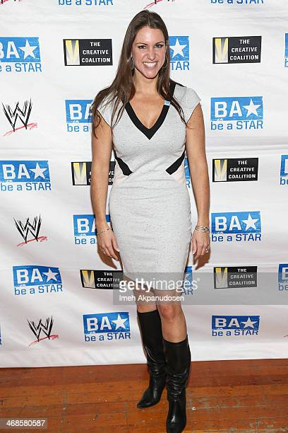 Executive Stephanie McMahon attends a 'Be A STAR' Bullying Prevention Rally presented by WWE And The Creative Coalition at James Madison Middle...