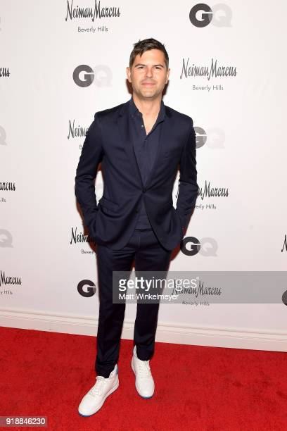 Executive Stylist Brett Fahlgren attends Neiman Marcus x GQ All Star Weekend Event with Ben Simmons at Neiman Marcus on February 15 2018 in Beverly...