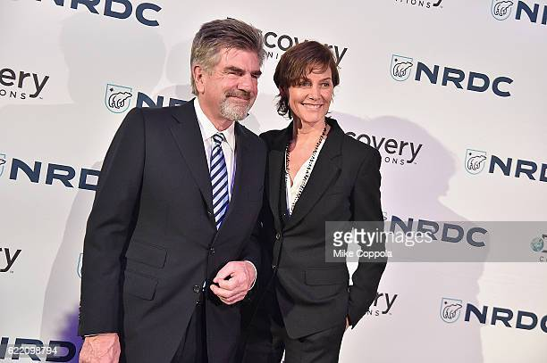 Executive Tom Freston and actress Carey Lowell attend the Natural Resources Defense Council's 'NRDC's Night of Comedy' Benefit with Seth Meyers John...