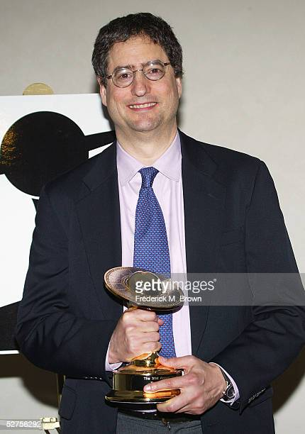 Executive Tom Rothman poses with trophy after being honored with the Life Career Award during the 31st Annual Saturn Awards at the Universal Hilton...