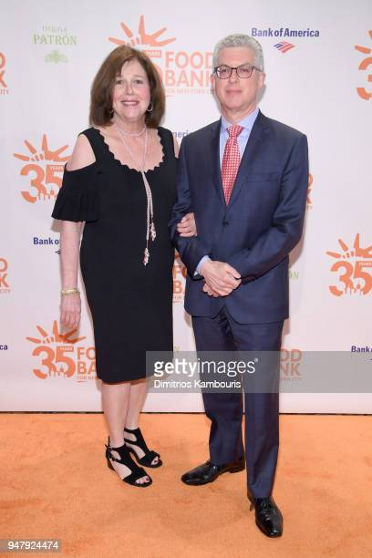 Executive Vice Chair of Food Bank For New York City Lary Stromfeld and wife Jackie Stromfeld attend the Food Bank for New York City's Can Do Awards...