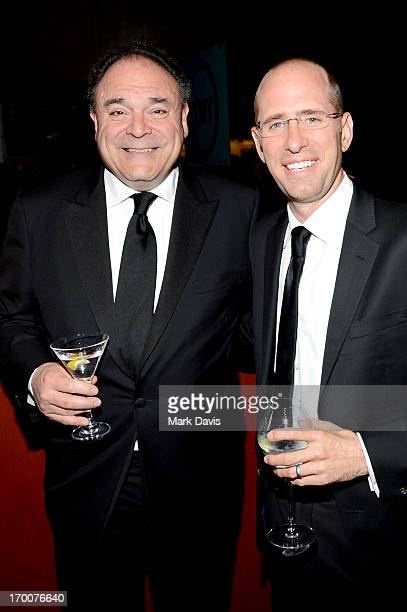 Executive Vice President and Chief Communications Officer CBS Corporation Gil Schwartz and producer Greg Garcia attend AFI's 41st Life Achievement...