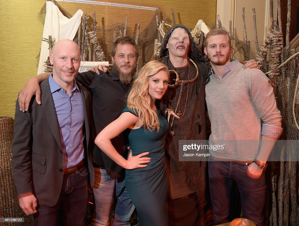 JAN 2015 TCA History Vikings Party : News Photo