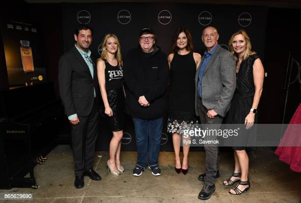 E executive vice president and general manager Rob Sharenow actress Marin Ireland filmmaker Michael Moore actress Betsy Brandt executive producer...