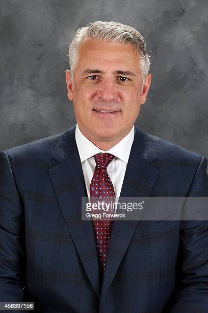 Executive Vice President and General Manager Ron Francis of the Carolina Hurricanes poses for his official headshot for the 2014-2015 season at...