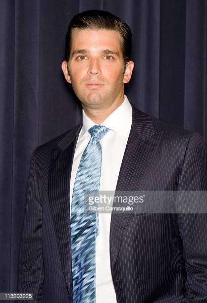 Executive Vice President at The Trump Organization Donald Trump Jr attends An Evening with 'The Celebrity Apprentice' at Florence Gould Hall on April...