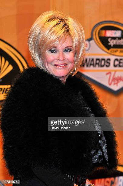 Executive Vice President Betty Jane France attends the NASCAR Sprint Cup Series awards banquet at the Wynn Las Vegas Hotel on December 3 2010 in Las...
