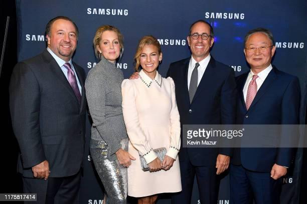 Executive Vice President, Consumer Business Division, Samsung Electronics America Joseph Stinziano, Ali Wentworth, Jessica Seinfeld, Jerry Seinfeld,...