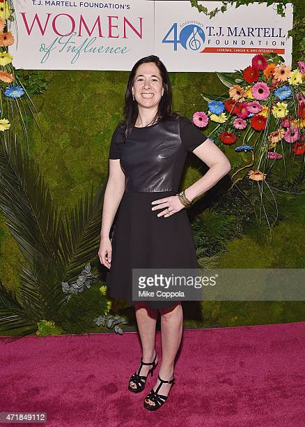 Executive Vice President Corporate Development and CFO of SESAC Kelli Turner attends the TJ Martell Foundation's Women of Influence Awards on May 1...