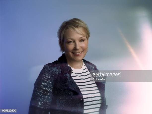 Executive Vice President Global Real Estate at Salesforce Elizabeth Pinkham is photographed for Fast Company Magazine on March 13 2017 in San...