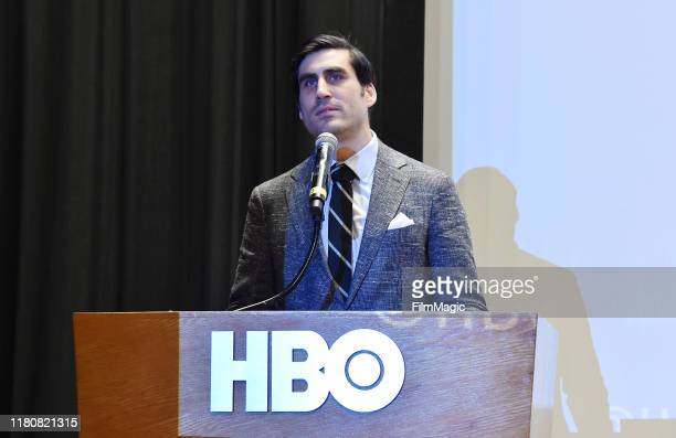 Executive Vice President HBO Sports Peter Nelson attends the premiere of HBO's Lindsey Vonn The Final Season at Writers Guild Theater on November 07...