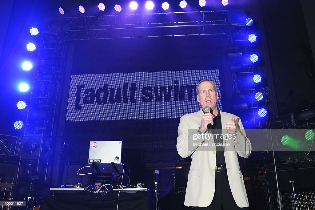 Executive Vice President of Ad Sales and Marketing for Cartoon Network and Adult Swim John O'Hara speaks at the Adult Swim Upfront 2010 at Gotham Hall on May 19, 2010 in New York City. 19913_001_0025.JPG