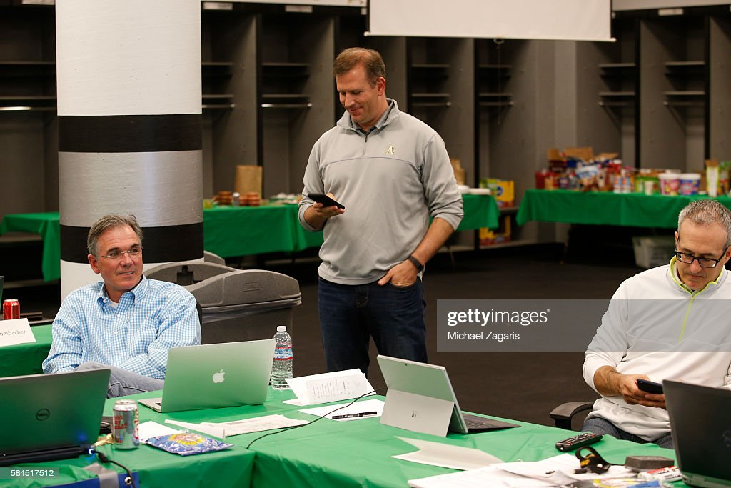 Executive Vice President Of Baseball Operations Billy Beane General Manager David Forst And Special Assistant