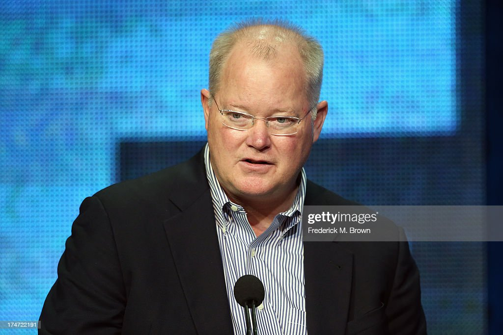 Executive Vice President of Communications FX Networks and FX Productions John Solberg speaks onstage during 'FX Directors' panel as part of the 2013 Summer Television Critics Association tour at the Beverly Hilton Hotel on July 28, 2013 in Beverly Hills, California.