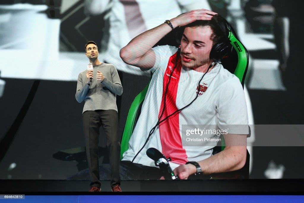 Executive Vice President of EA Patrick Soderlund speaks during the Electronic Arts EA Play event at the Hollywood Palladium on June 10, 2017 in Los Angeles, California. The E3 Game Conference begins on Tuesday June 13.