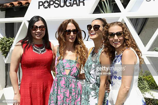 Executive Vice President of Marketing ShopStyle and all POPSUGAR brands Anna Fieler designer Mara Hoffman actress Jamie Chung and Founder and Editor...
